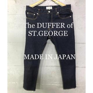 ザダファーオブセントジョージ(The DUFFER of ST.GEORGE)の美品!The DUFFER of ST.GEORGE デニムパンツ!日本製!(デニム/ジーンズ)