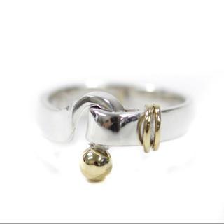ティファニー(Tiffany & Co.)のティファニー シルバー 18金 リング(リング(指輪))