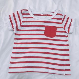 ニシマツヤ(西松屋)のボーダーTシャツ(Tシャツ)