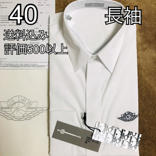 Christian Dior - 40 AIR DIOR NIKE 半袖シャツ 白