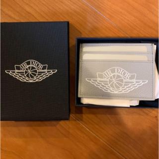 クリスチャンディオール(Christian Dior)のAir Dior card holder case jordan(名刺入れ/定期入れ)
