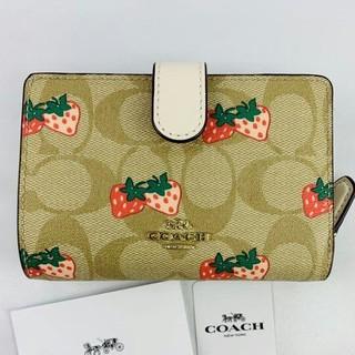コーチ(COACH)の新品COACH(コーチ)の二つ折り財布   91836(財布)