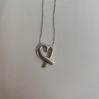 ティファニー(Tiffany & Co.)のTIFFANYネックレス ラビングハートsilver925(ネックレス)