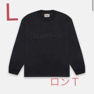 フィアオブゴッド(FEAR OF GOD)のESSENTIALS ロンT BLACK(Tシャツ/カットソー(七分/長袖))