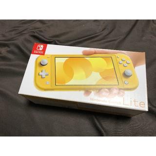 Nintendo Switch - 【新品・即日】Nintendo Switch Lite 本体 イエロー