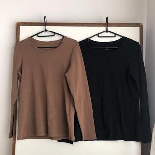 ユニクロ(UNIQLO)のユニクロ UT長袖 Lサイズ 2枚セット(Tシャツ(長袖/七分))