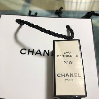 シャネル(CHANEL)のシャネルN°19香水 4ml(香水(女性用))