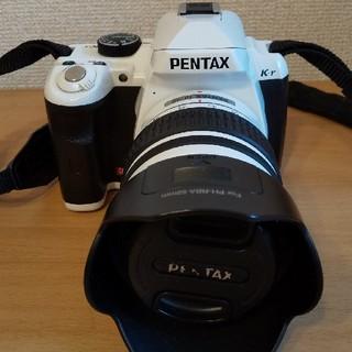ペンタックス(PENTAX)のデジタル一眼レフ PENTAX K-r レンズキット ホワイト(デジタル一眼)