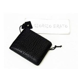 ジョルジオブラット(GIORGIO BRATO)のジョルジオブラットGIORGIOBRATO■折畳みレザーウォレット財布(折り財布)