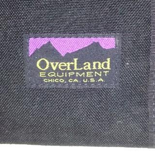 オーバーランド(Overland)の旧ロゴ·デッド‼️新品·未使用‼️オーバーランド·ウォーレット 黒(折り財布)