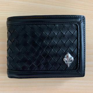 パトリックコックス(PATRICK COX)のパトリックコックスPATRICKCOX本革二つ折り財布黒色(折り財布)