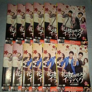 花を咲かせろ イ・テベク DVD  レンタル専用 全12巻セット(TVドラマ)