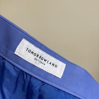 TOMORROWLAND - 極美品 トゥモローランド ラップ ワイドキュロット パンツ ballsey