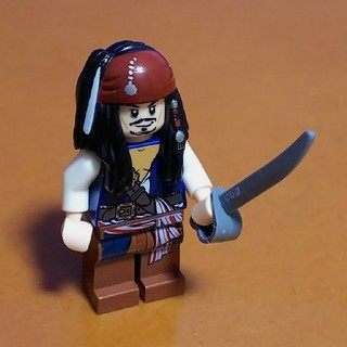 Lego - レゴ★パイレーツオブカリビアン ジャック・スパロウ 美品 人気 激レア