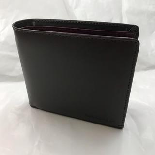 モノコムサ   本革製 折り財布 新品未使用(折り財布)