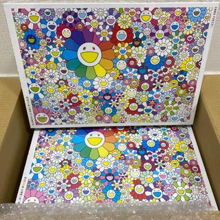 Flower Jigsaw Puzzle 2個セット カイカイキキ 村上隆(その他)