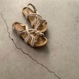 Kastane - amiur rope sandals lawgy
