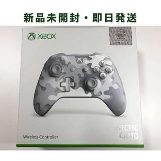 マイクロソフト(Microsoft)の【新品】Xbox ワイヤレス コントローラー Arctic Camo スペシャル(その他)