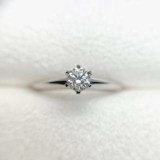 ティファニー(Tiffany & Co.)の●ティファニー pt950 鑑定書 箱 ケース有 リング(リング(指輪))