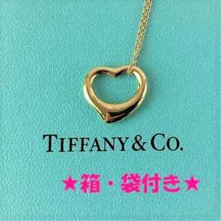 ティファニー(Tiffany & Co.)の❤セール❤ 【ティファニー】 ネックレス シルバー アクセサリー 袋付き ハート(ネックレス)