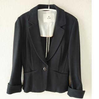 エフデ(ef-de)のエフデ ネイビー スーツ 7号 ジャケット スカート上下セット(スーツ)