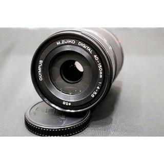 オリンパス(OLYMPUS)の【超美品】M.ZUIKO DIGITAL 40-150mm 4-5.6 R ED(レンズ(ズーム))