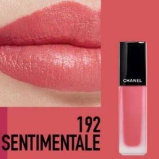 シャネル(CHANEL)のCHANEL ルージュサンティマンタル #192  数量限定・完売品(口紅)