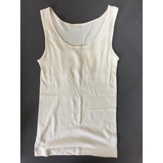 ムジルシリョウヒン(MUJI (無印良品))の新品無印良品タンクトップ(アンダーシャツ/防寒インナー)