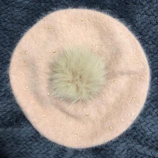 リズリサ(LIZ LISA)のLIZ LISA ふわふわベレー帽(ハンチング/ベレー帽)