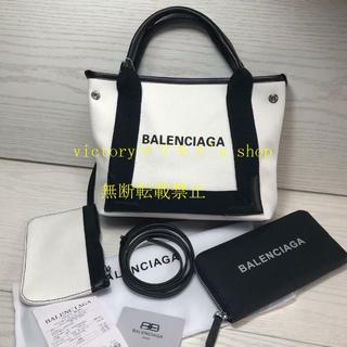 バレンシアガ(Balenciaga)の2点 美品 BALENCIAGA キャンバスバッグ 財布 Sサイズ(トートバッグ)