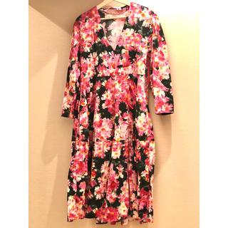 ザラ(ZARA)のZARA / long flower dress(ロングワンピース/マキシワンピース)