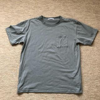 シマムラ(しまむら)のカーキ Tシャツ(Tシャツ(半袖/袖なし))