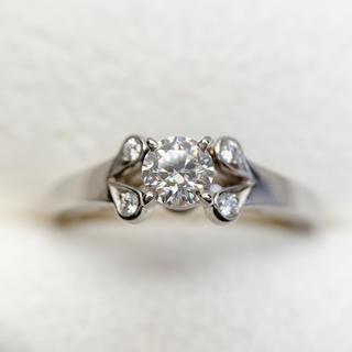 カルティエ(Cartier)の●カルティエ pt950  箱あり ダイヤモンド  リング(リング(指輪))