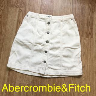 アバクロンビーアンドフィッチ(Abercrombie&Fitch)のアバクロ コーデュロイ ミニスカート(ミニスカート)