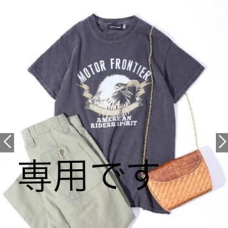 ドゥーズィエムクラス(DEUXIEME CLASSE)のGOOD ROCK SPEED:CONDOR PRINT TEE Tシャツ(Tシャツ(半袖/袖なし))