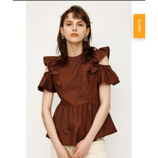 SLY - SLY☆ OPEN SHOULDER FRILL トップス サイズ2