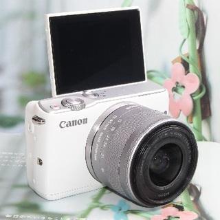 Canon - ❤️Wi-Fi&自撮り&予備バッテリー❤️大人気 Canon EOS M10❤️