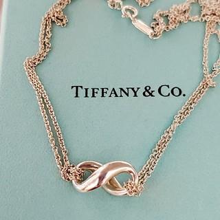 ティファニー(Tiffany & Co.)のティファニー インフィニティ ネックレス 永遠 人気 ダブルチェーン(ネックレス)
