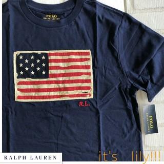 Ralph Lauren - 4t110cm ラルフローレン 定番 新作 星条旗 tシャツ