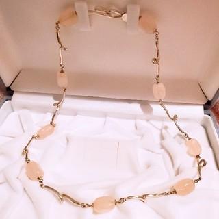 ティファニー(Tiffany & Co.)のティファニー ローズクォーツ ネックレス ジェムストーン(ネックレス)