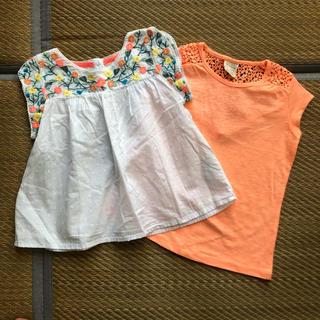 ネクスト(NEXT)のZARA NEXT 半袖Tシャツ 刺繍ブラウス(Tシャツ/カットソー)