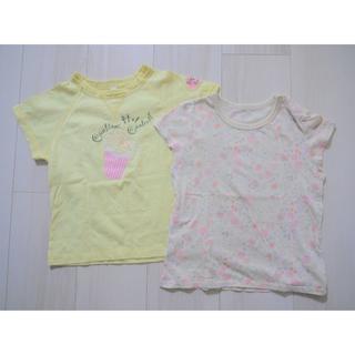 ユニクロ(UNIQLO)のポップコーン(2,3回着用のみ)と バンビ ディスニー H&M好きさん(Tシャツ/カットソー)