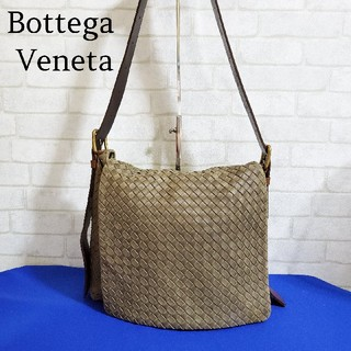 Bottega Veneta - ボッテガヴェネタ BottegaVeneta イントレチャートショルダーバッグ