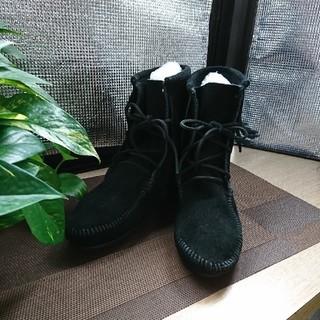 ミネトンカ(Minnetonka)のミネトンカフリンジブーツ(size7)(ブーツ)