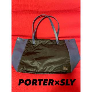ポーター(PORTER)のPORTER×SLY☆たっぷりトートバッグ(トートバッグ)