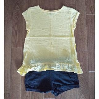 ザラ(ZARA)のZARA トップス Tシャツ ブラウス ドット(Tシャツ/カットソー)