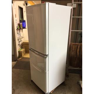 ミツビシデンキ(三菱電機)のMITSUBISHI 3ドア冷蔵庫 MR-C34A-W 2017(冷蔵庫)