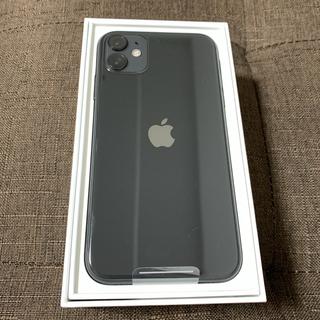 Apple - iPhone11 64gb ブラック SIMフリー