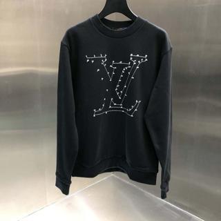 LOUIS VUITTON - 【Louis Vuitton】LVステッチプリント ロゴ スウェット シャツ