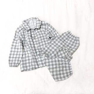 ムジルシリョウヒン(MUJI (無印良品))の無印良品 / 二重ガーゼパジャマ 90-100(パジャマ)